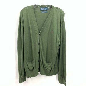 Polo By Ralph Lauren Mens Sweater Green Size XL